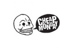 Cheap Monday Sujetador  Cheap Negro Encaje